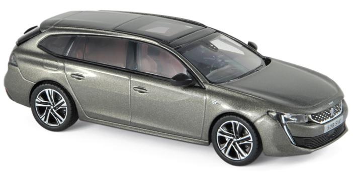 475825 Peugeot 508 SW GT 2018, Amazonite Grey, Norev