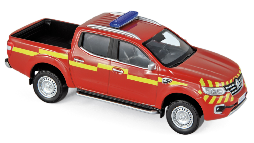 "518393 Renault Alaskan Pick-Up 2017, ""Pompiers"", Norev"