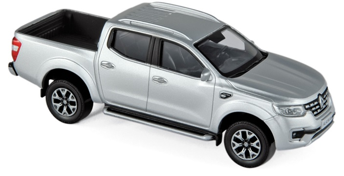 518399 Renault Alaskan Pick-Up 2017, zilver, Norev