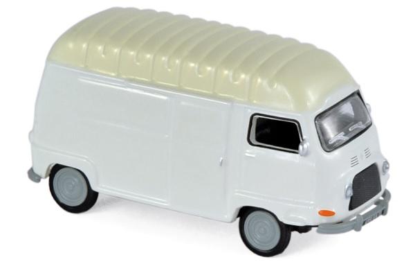 517353 Renault Estafette 1970, wit, Norev