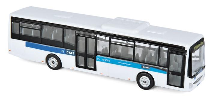 """530262 Iveco Bus Crossway LE 2014, """"Car Du Rhône"""", Norev"""