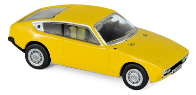 574116 Matra Bagheera 1975, Sun Yellow, Norev