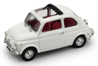 R464-03 Fiat 500L Aperta 1968-1972, wit, Brumm