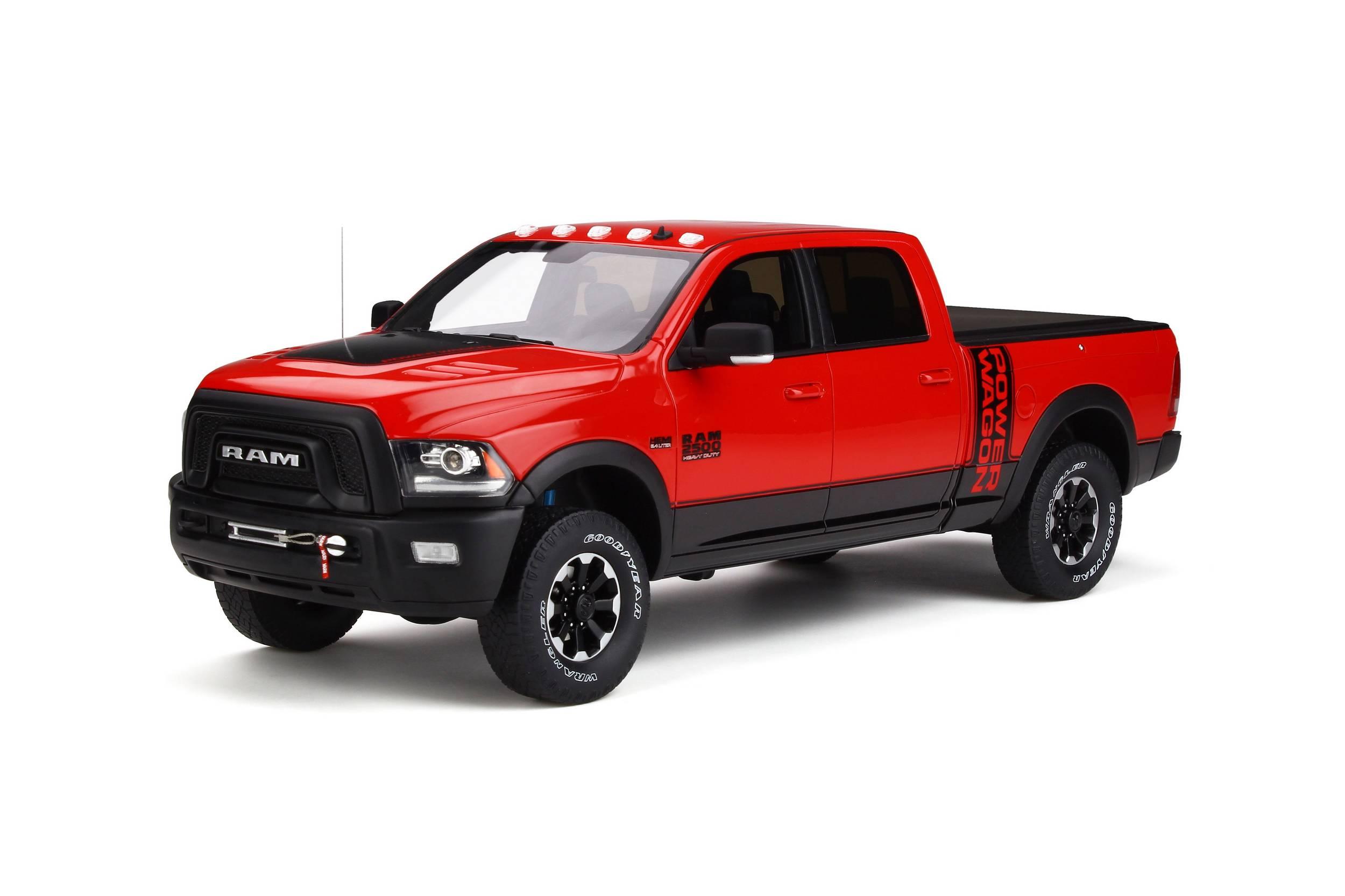 GT224 Dodge RAM 2500 Power Wagon, rood/zwart, GT Spirit