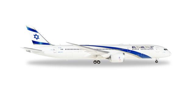 """559249 Boeing 787-9 D. """"EL AL"""", Herpa Wings"""