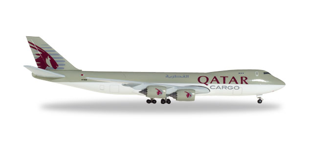 "531993 Boeing 747-8F ""Qatar Airways Cargo"", Herpa Wings"