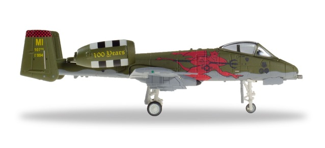 559362 Fairchild A-10C Thunderbolt II U.S.A.F. 107FS Red Devils, Herpa Wings