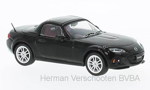 F43-068 Mazda MX-5 Roadster, zwart, First 1:43 Models