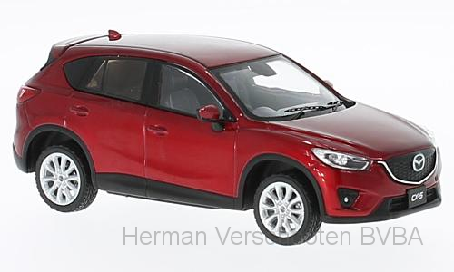 F43-073 Mazda CX-5 2013, met. rood, First 1:43 Models