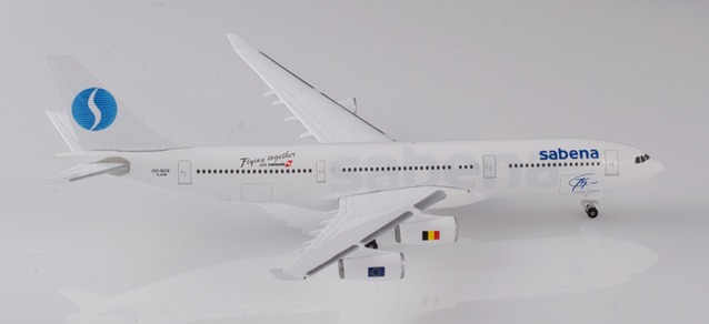 "532655 Airbus A340-200 ""Sabena 75th Anniversary"", Herpa Wings"