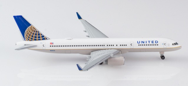 "532846 Boeing 757-200 ""United Airlines"", Herpa Wings"