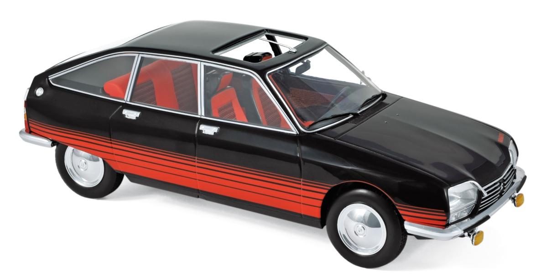 "181626 Citroën GS ""Basalte"" 1978, zwart/rood, Norev"