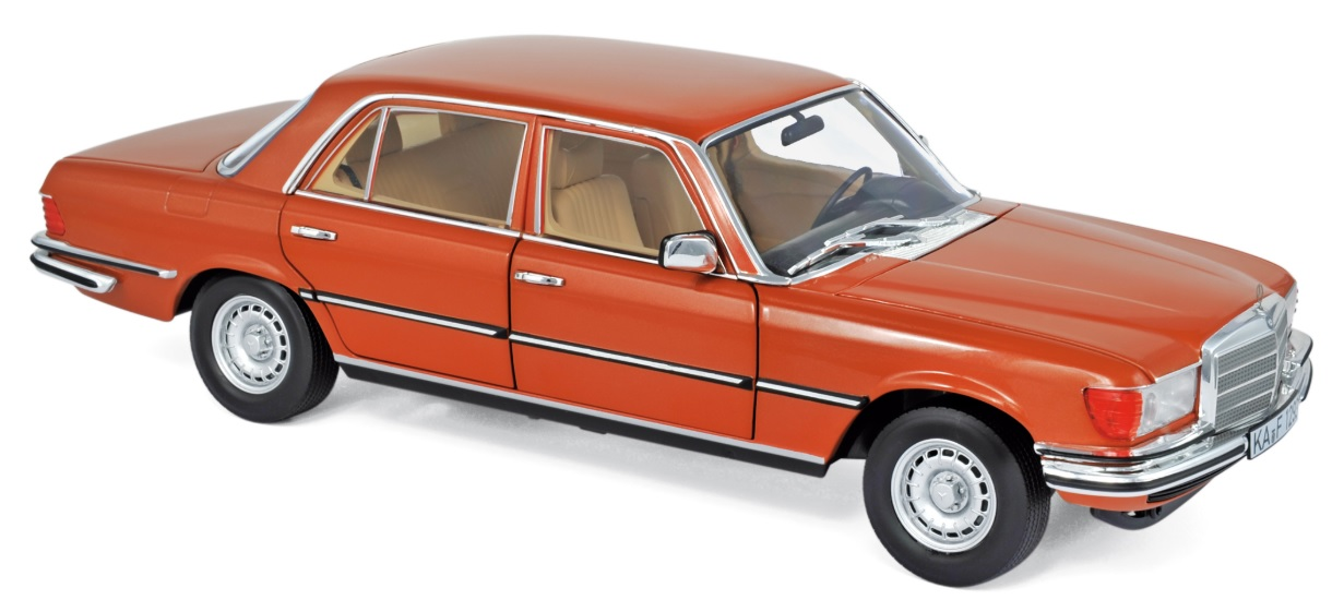 183459 Mercedes-Benz 450 SEL 6.91976, Inca Orange Met., Norev