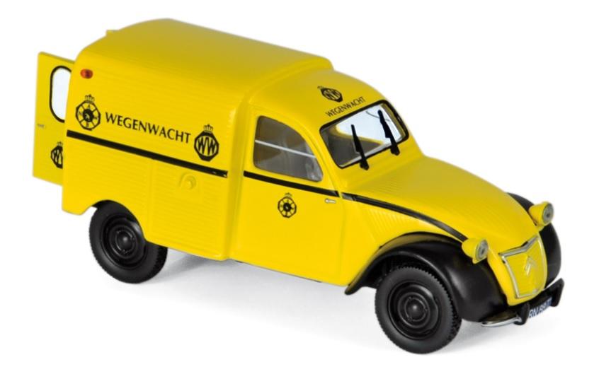 "151413 Citroën 2CV AZU 1959 ""ANWB Wegenwacht"", Norev"