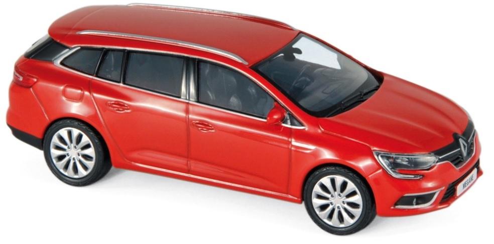 517799 Renault Megane Estate 2016, rood, Norev