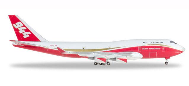 """531955 Boeing 747-400 """"Global Supertanker Services Spirit of J. Muir"""", Herpa Wings"""