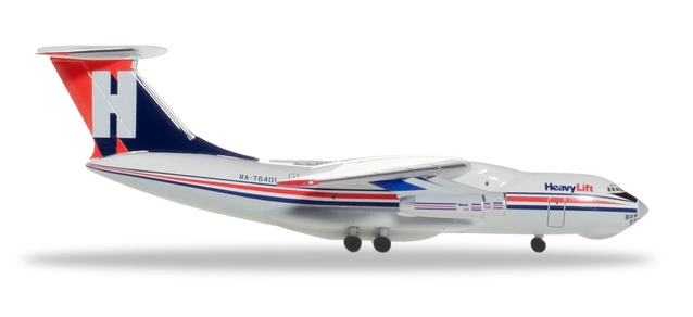 "532785 Ilyushin IL-76 ""HeavyLift Cargo Airlines"", Herpa Wings"