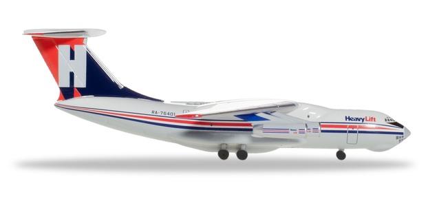 "532785 Ilyushin IL-76 ""HeavyLift Cargo Airlines"", Herpa Wings"