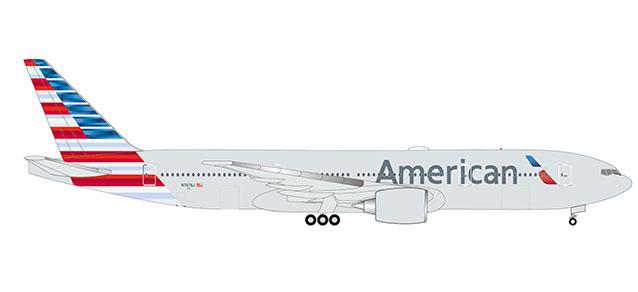 """532815 Boeing 777-200ER """"American Airlines"""", Herpa Wings"""