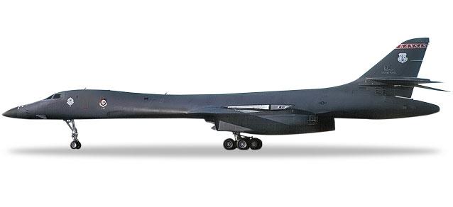 "559263 Rockwell B-1B Lancer ""USAF K. ANG 127th BS Intertr. War. A."", Herpa Wings"