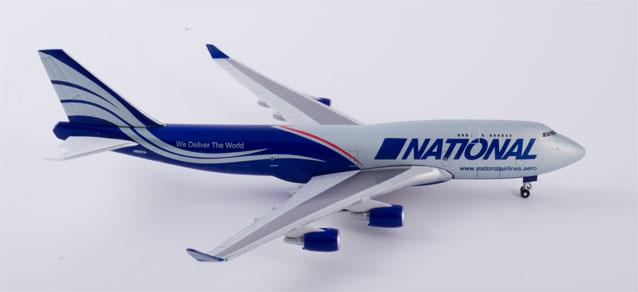 """518819-001 Boeing 747-400F """"National Air Cargo Ed"""", Herpa Wings"""