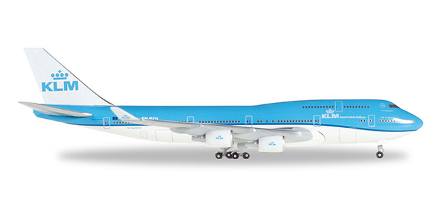 "529921-001 Boeing 747-400 ""KLM (PH-BFN) (NL)"", Herpa Wings"