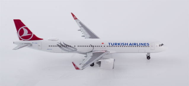 "532853 Airbus A321neo ""Turkish Airlines"", Herpa Wings"