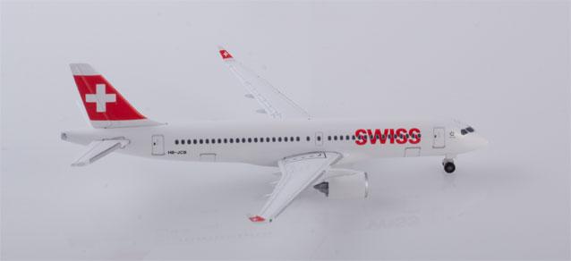 """532877 Airbus A220-300 """"Swiss International Air Lines"""", Herpa Wings"""