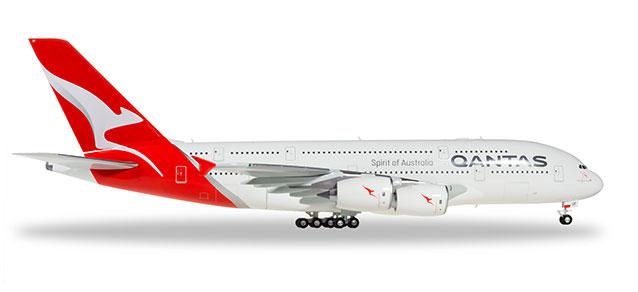 """559423 Airbus A380-800 """"Qantas Charles Kingsford Smith"""", Herpa Wings"""
