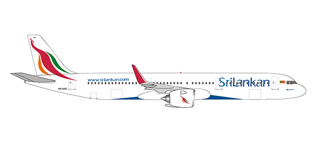 "532884 Airbus A321neo ""SriLankan Airlines"", Herpa Wings"