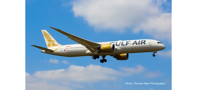 "532976 Boeing 787-9 D. ""Gulf Air"", Herpa Wings"