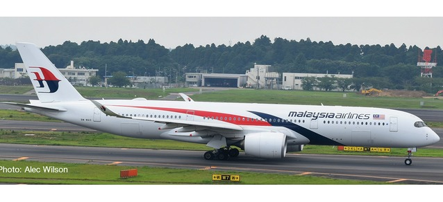 "532990 Airbus A350-900 ""Malaysia Airlines"", Herpa Wings"