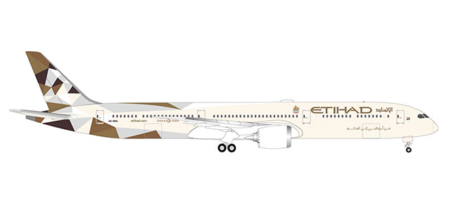 "533119 Boeing 787-10 D. ""Etihad Airways"", Herpa Wings"