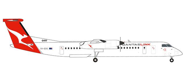 """559546 Bombardier Q400 """"QantasLink Lismore"""", Herpa Wings"""