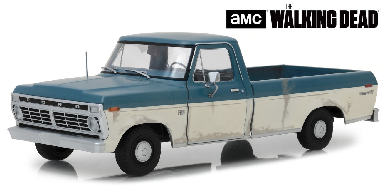 "12956 1973 Ford F-100 ""The Walking Dead"", Greenlight"