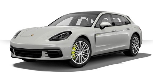 410066114 Porsche Panamera Sport Turismo 4 E-Hybrid 2017, grijs, Minichamps