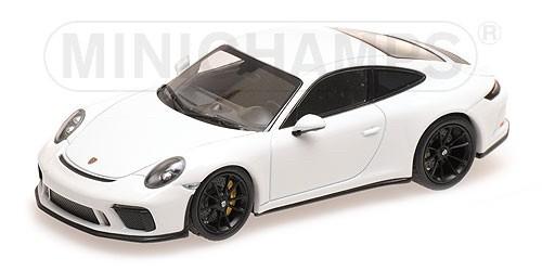 410067420 Porsche 911 GT3 Touring (991.2) 2018, wit, Minichamps