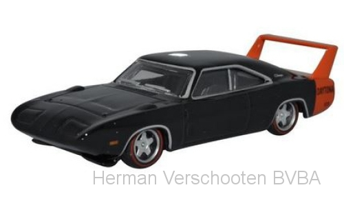 87DD69001 Dodge Charger Daytona 1969, zwart, Oxford