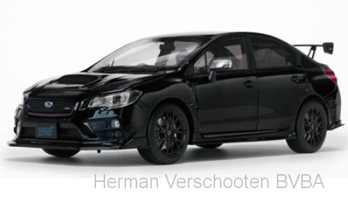 5553 Subaru WRS Sti S207 2015, zwart, Sunstar