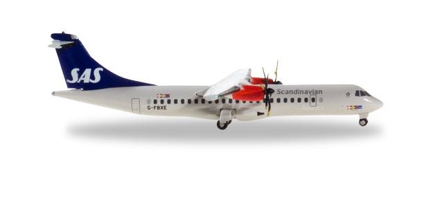 """533034 ATR-72-600 """"SAS Scandinavian Airlines"""", Herpa Wings"""