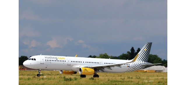 """533218 Airbus A321 """"Vueling"""", Herpa Wings"""