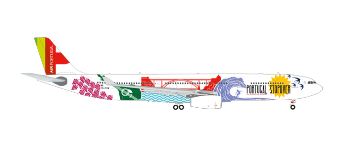 "558945 Airbus A330-300 ""TAP Portugal Stopover"", Herpa Wings"