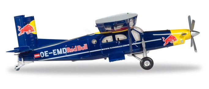 "580304 Pilatus PC-6 Turbo Porter ""The Flying Bulls"", Herpa Wings"