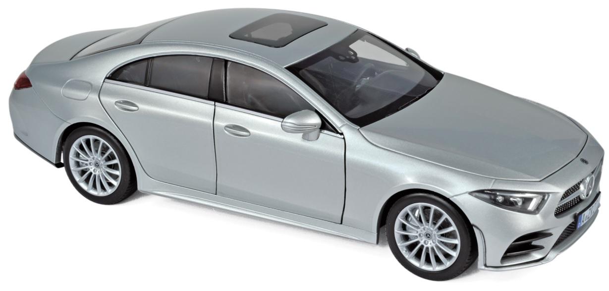 183489 Mercedes-Benz CLS 2018, zilver, Norev