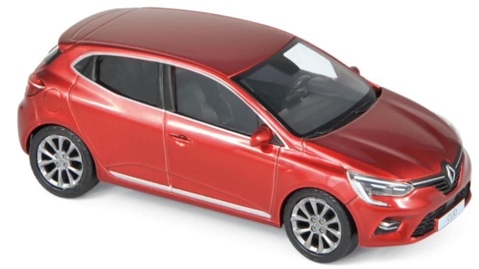 517587 Renault Clio 2019, Flamme Rood, Norev