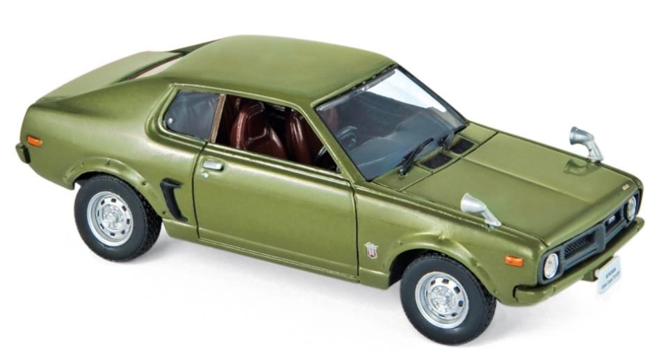800168 Mitsubishi Galant FTO GSR 1973, lichtgroen, Norev