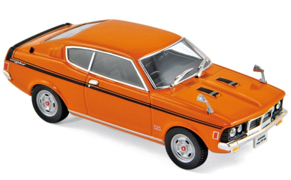 800173 Mitsubishi Galant GTO 1970, oranje, Norev