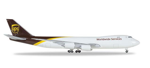 """531023-001 Boeing 747-8F """"UPS Airlines N607UP"""", Herpa Wings"""