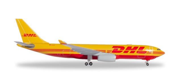 "532969 Airbus A330-200F ""DHL Aviation"", Herpa Wings"
