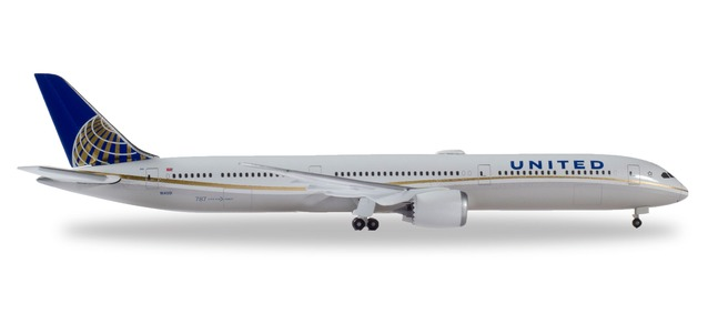 "533041 Boeing 787-10 D. ""United Airlines"", Herpa Wings"